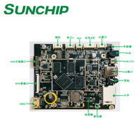 Rockchip RK3128 Android ARM Board Digital Signage Advertising Player from SUNCHIP