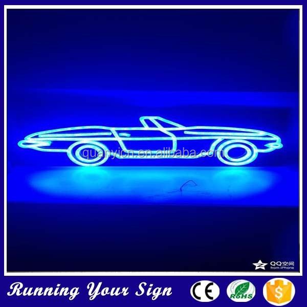Good quality popular advertising car neon signage