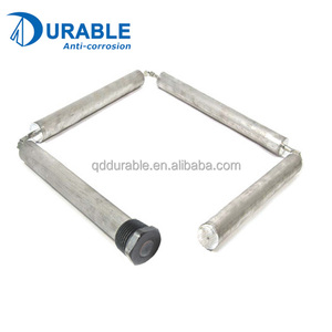 Water heater Corrosion protection linked-style Magnesium flexible chain anode