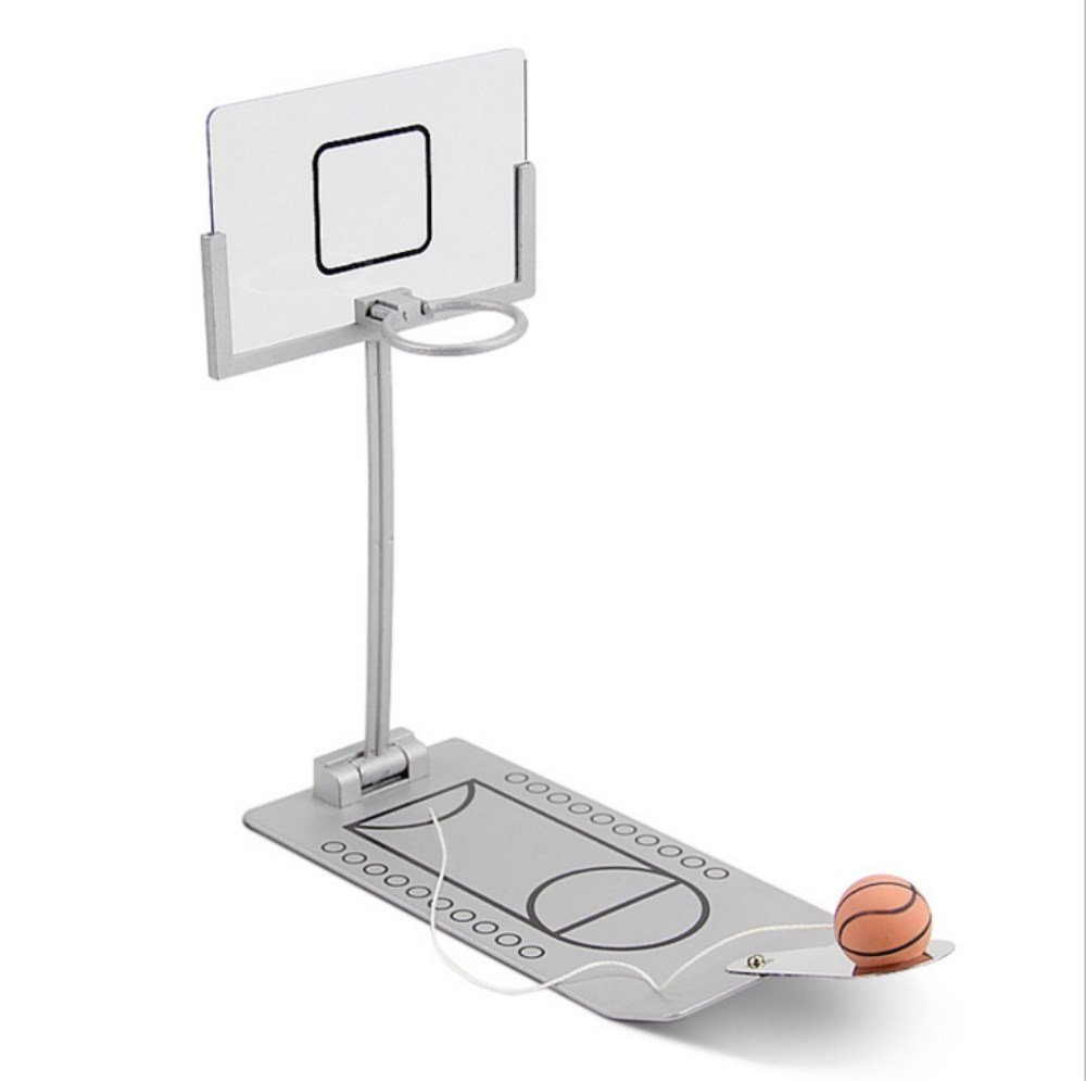 Dr.Pink Foldable Mini Table Basketball Game,Office Desktop Game Basketball,Shooting Game Toy