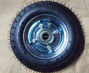 6 inch 150mm heavy duty pneumatic tyre wheel