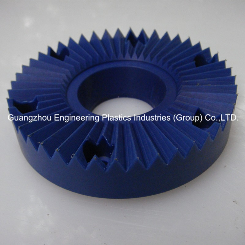 engineering plastic injection moulding gear parts custom nylon bevel gear for printer