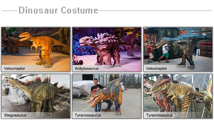 High Simulation Walking Dinosaur Costume For Sale