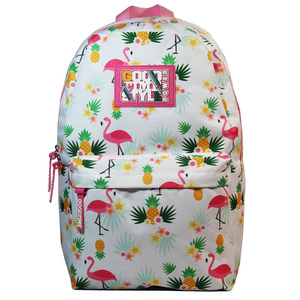 Japan style colorful printed girl backpack