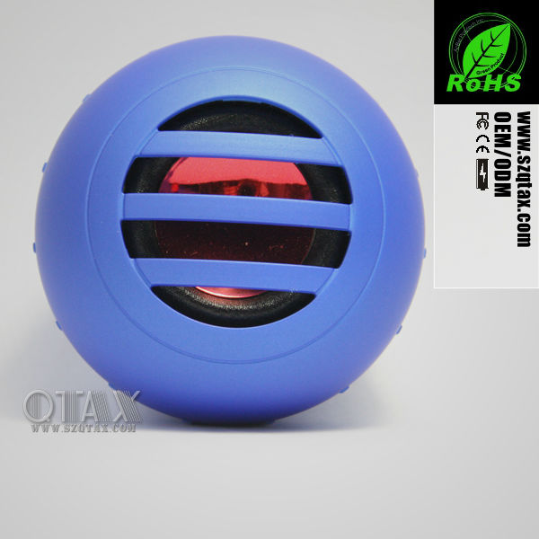 2013 new mini portable induction ceiling speaker audio amplifier for cell phone/iphone/mp3/ipad/laptop