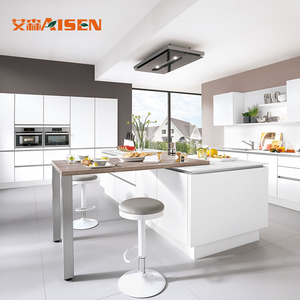 Small Apartments Project Lacquer Kitchen Cabinets from China