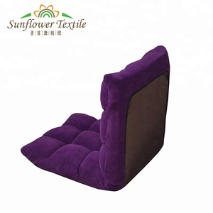 New design foldable chair memory foam floor chair sofa bed
