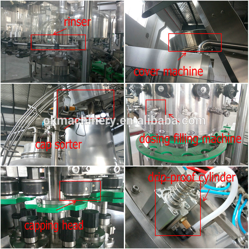2018 new design tin can filling sealing machine