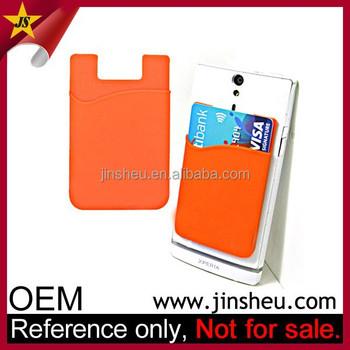 d79696af869 Gros Hot promotionnel produits Logo personnalisé pas cher Silicone poche  pour téléphone Mobile