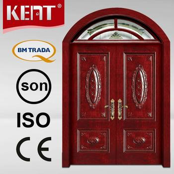 Classical and original exterior wooden doors prices buy for Main door design catalogue