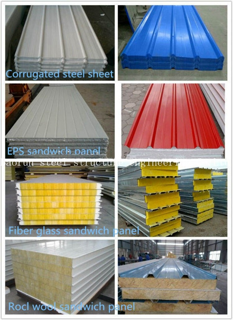 Steel Stucture Low Cost Prefab Warehouse