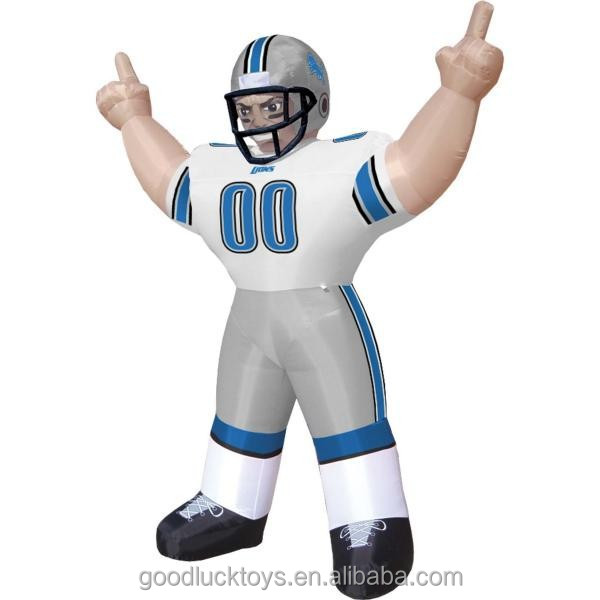 nfl inflatable player lawn figure