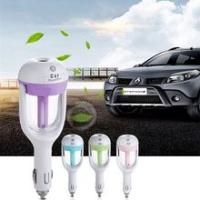 Wholesale USB Car Parfume Air Purifier Freshener 50ML Essential Oil Diffuser Aromatherapy
