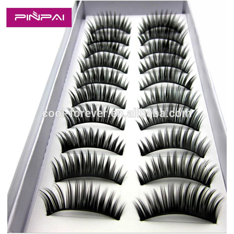 Pinpai brand Charming Natural False Eyelashes Artificial Fake Eyelash Eye Lashes
