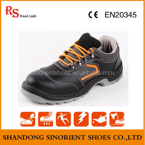 PU sole steel toe Ultra light safety shoes ,Funky safety shoes ,Chemical resistant Forklift shoes Malaysia RS410