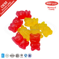 Halal candy jelly bulk gummy bear sweets