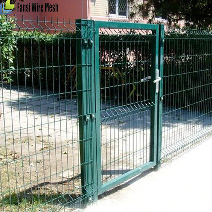 Top With Barbed Wire Snow White Rall9010 Decorative Garden Fence ...