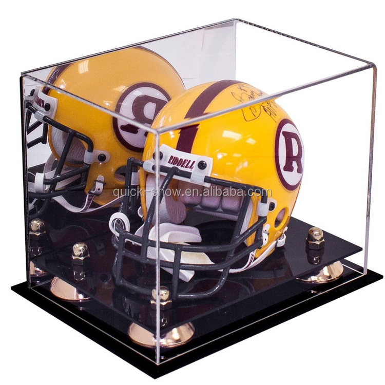 more than 10 years manufacture experience acrylic display stand for baseball helmets acrylic mini