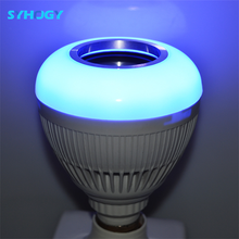 Eye Protection LED Touch Bedside led intelligent emergency light led bluetooth speaker bulb mi. light wifi bulb