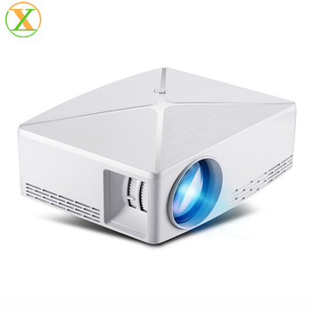 Best mini hd home theater projector 1080p C80 1280x720 Resolution portable projector full hd