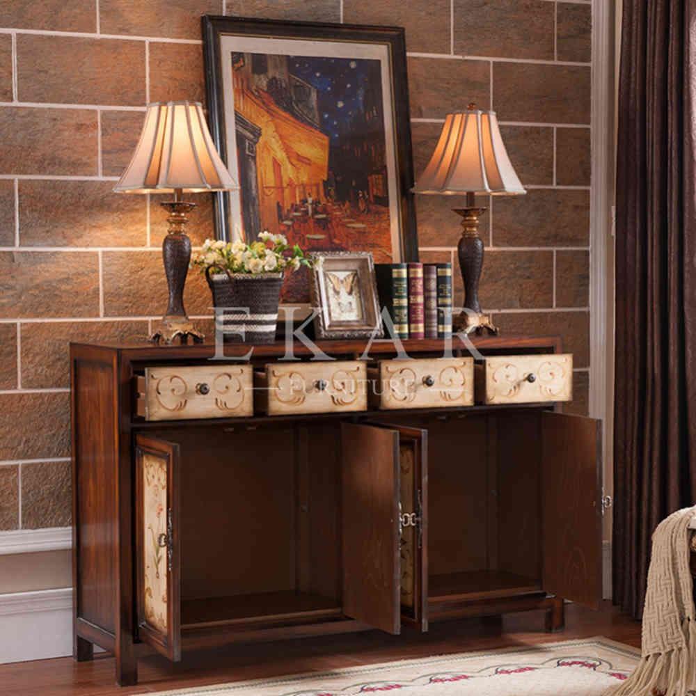 Buffet decoraci n mueble de la sala del gabinete for Decoracion para aparadores