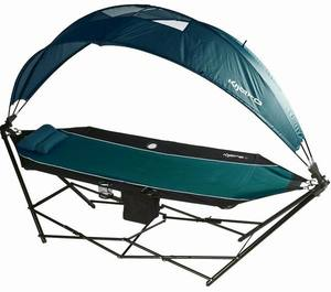 2016 hot sale folding portable hammock with canopy with stand