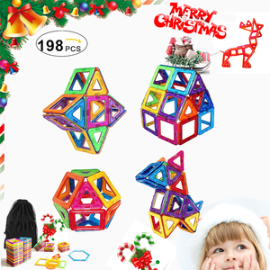 Christmas gift Wholesale Diy Educational Toy Magnetic Building Blocks