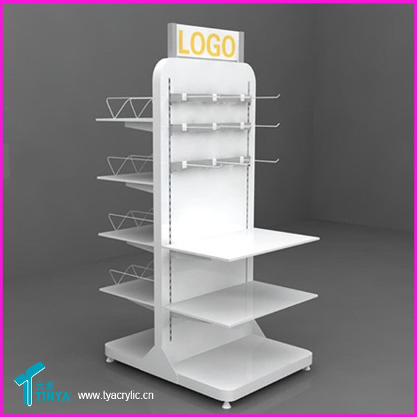 Factory Custom 3-tier Counter Top Health Products Hanging Display ...
