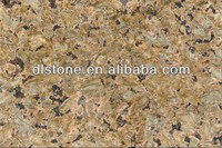 Chinese Tropical Brown Yellow Granite Tile Size 60x60 Polished