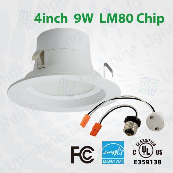 Dimmable Shenzhen commercial lighting manufacturer super bright CRI 80 5000K PF>0.9 retrofit Epistar round smd led downlight