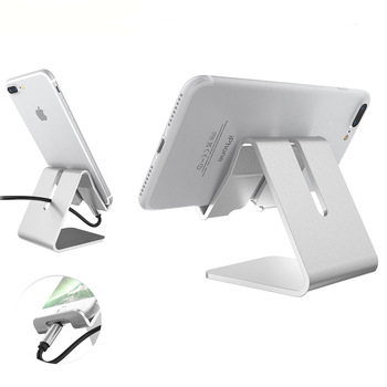 Hot Sale Desktop Aluminum Alloy Cell Phone Stand Holder For Mobile Phone