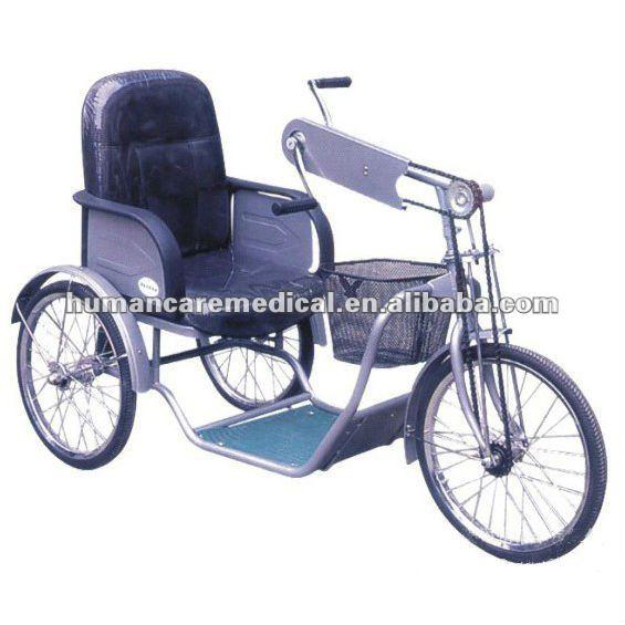silla de ruedas triciclo