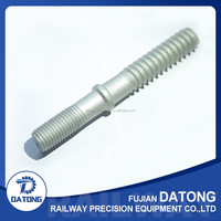 Track screw spike for rail fastener into wooden or concrete sleeper