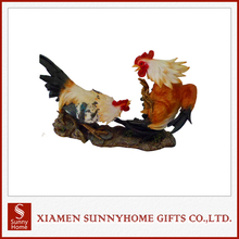 2017 Fashionable Best Price Resin Rooster For Crafts