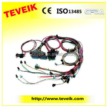 Wholesale Oem Car Auto Wiring Harness At Factory Price For Sale With on oxygen sensor extension harness, electrical harness, suspension harness, radio harness, pony harness, fall protection harness, cable harness, nakamichi harness, battery harness, engine harness, alpine stereo harness, amp bypass harness, maxi-seal harness, obd0 to obd1 conversion harness, safety harness, pet harness, swing harness, dog harness,