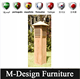 Wood Light Box Bollard Pole Light Garden Light