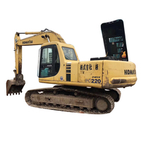 Price New Secondhand Komatsu PC220 Excavator on Sale