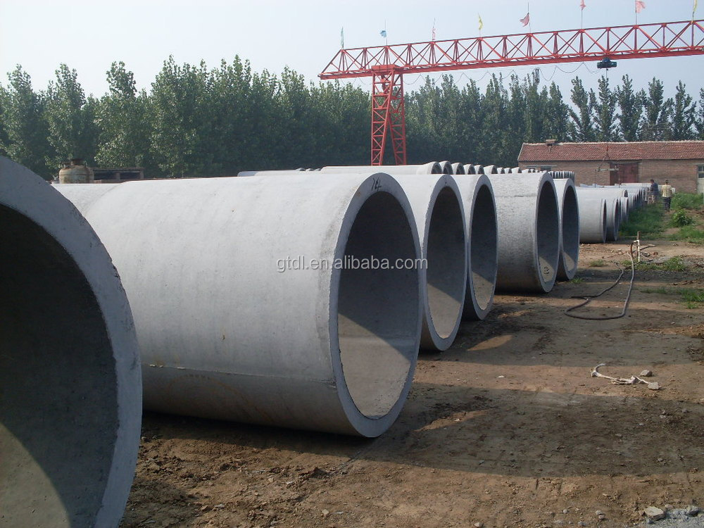 Concrete Pipe Plant : Concrete cement pipe culvert box molding machine