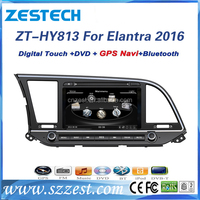 touch screen dvd gps for Hyundai Elantra 2016 dvd player with navigator gps radio dvd bluetooth audio system
