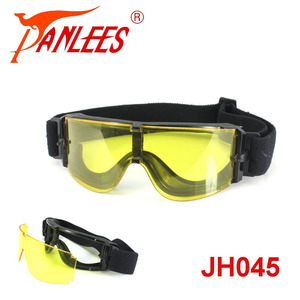OEM PANLEES 2.8mm lens airsoft windproof night vision safety equiment shooting Field sunglasses cycling goggles glasses