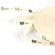 Хлопчатобумажная лента, 5 ярдов 15 мм, ручная работа, хлопковая кружевная лента, швейная ткань, свадебное украшение, подарочная упаковка, Рожд...(Китай)