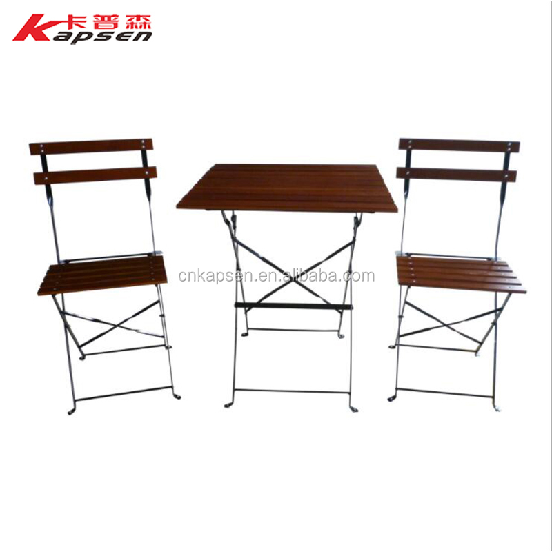 Outdoor Furniture Metel Coffee Tea Table Chair Assembly Design Outdoor Tables Chairs Garden Set