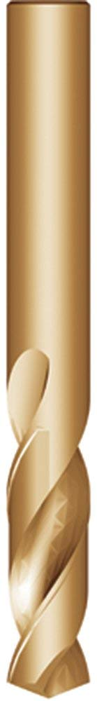 Uncoated Chicago Latrobe 120DH Series High-Speed Steel Long Length Drill Bit Round Shank with Tang Parabolic Flute Finish Bright 135 Degree Spilt Point Pack of 12 Size #15