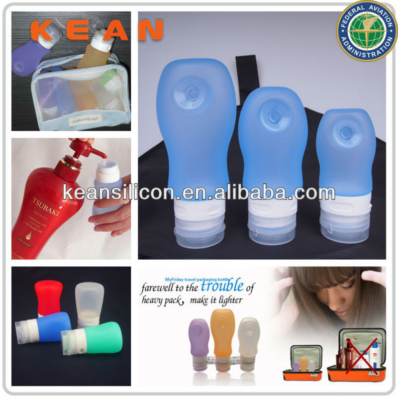 Travel Gift Items/Leak-proof Airline Carry-on Silicone Travel Bottle Mini Lotion/Conditioners Container&Tube