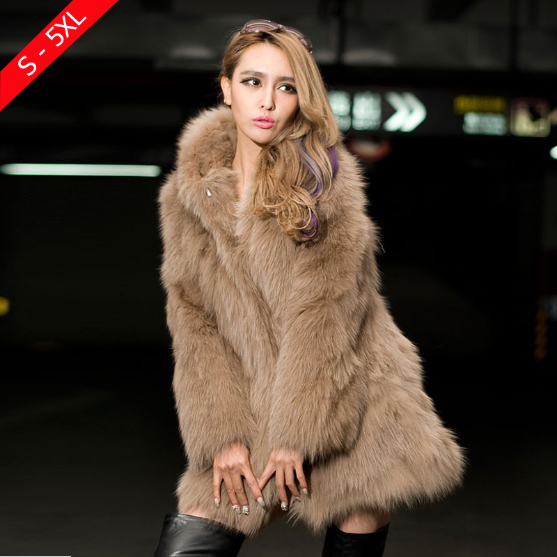 b67871cce Faux Rabbit Fur Coat - JacketIn