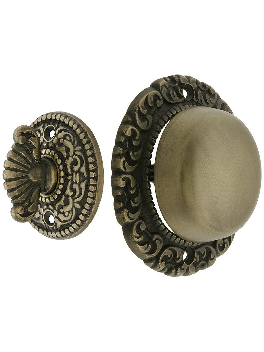 Get Quotations · House of Antique Hardware R-06SE-0900017 Small Scroll  Design Twist Door Bell in - Cheap Antique Door Bell Push, Find Antique Door Bell Push Deals On