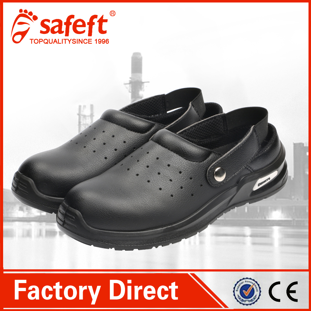 Summer Sandel steel toe anti static safety shoes
