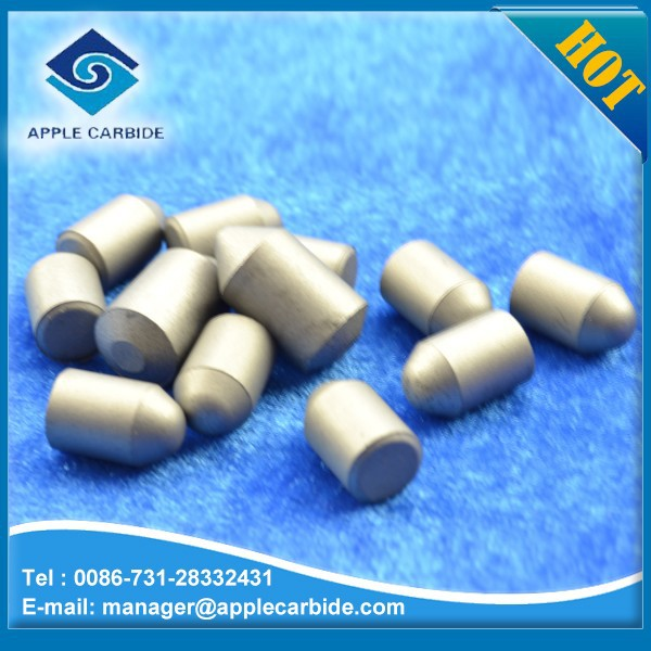 Zhuzhou Apple K20 cemented carbide button tips/parabolic dauble chamfers button
