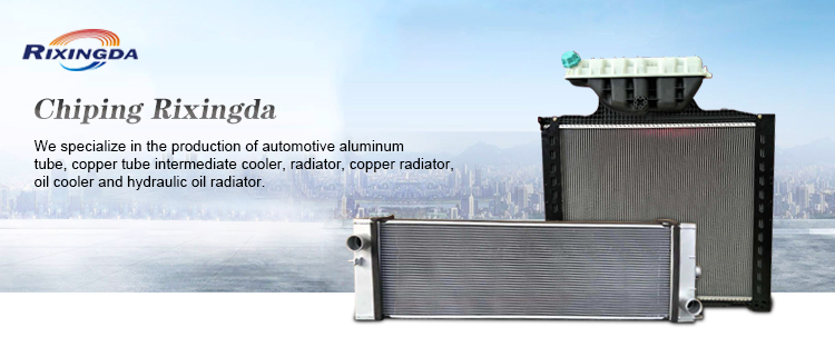 euro car/truck quality radiator with plastic tanks for axor MP2 MP3 China factory