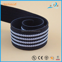 bright white and blue stripe good quality original material elastic band